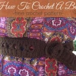 How to Crochet a Belt by Stitch11