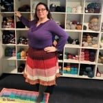 Looped in Love Skirt by Jessie At Home