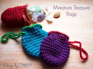 Miniature Treasure Bags by Stitch11
