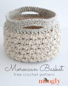 Moroccan Basket by Moogly