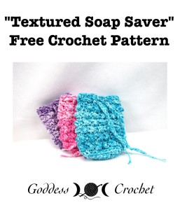 Textured Soap Saver by Goddess Crochet