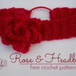 Rose and Headband by Stitch11