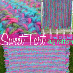 Sweet Tart Rug by Stitch11