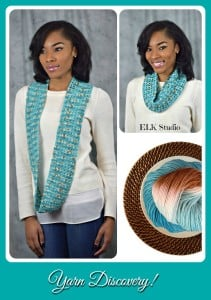 Delicious Yarns Review & Cowl Pattern by ELK Studio