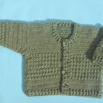 Crochet Baby Cardigan by aamragul of Crochet/Crosia Home