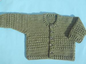 Crochet Baby Cardigan by aamragul of Crochet/Crosia Home