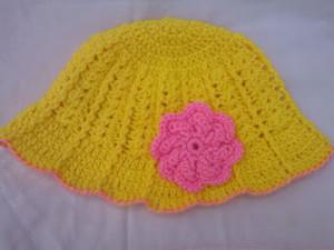 Summer Hat or Bucket Babies Hat by aamragul of Crochet/Crosia Home