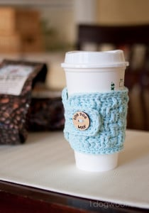 Basketweave Cup Cozy by One Dog Woof