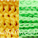 How to Make Front Post and Back Post Double Crochet Stitches by Jane Green of Beautiful Crochet Stuff