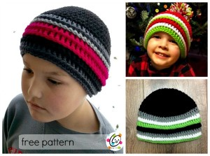 Jake's Beanie by Snappy Tots