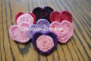 Heart Pin by Cre8tion Crochet