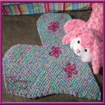 Hearts and Flowers Mat by Designs from Grammy's Heart, with Love