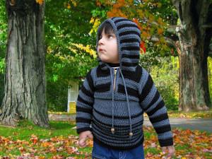 Crochet Hoodie Sweater by aamragul of Crochet/Crosia Home
