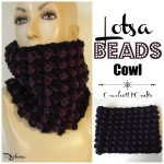 Lotsa Beads Cowl by Rhelena of CrochetN'Crafts