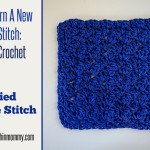 Modified Sedge Stitch Tutorial and Dishcloth by The Stitchin' Mommy