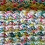 Textured Baby Blanket by Dee Ann H of Joyful In Tribulation