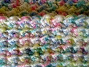 Textured Baby Blanket by Joyful In Tribulation