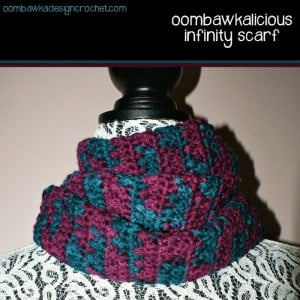 Oombawkalicious Infinity Scarf by Oombawka Design