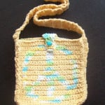 Crochet A Peace Sign Shoulder Bag by Cats-Rockin-Crochet