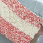 Polka Dot Crochet Clutch by Love City
