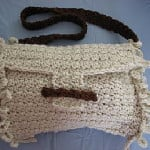 Loop Edge Purse by Donna's Crochet Designs