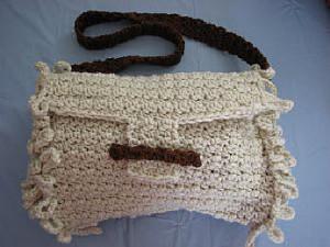 Loop Edge Purse by Donna's Crochet Designs