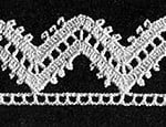 Alpine Edging #8053 by Free Vintage Crochet