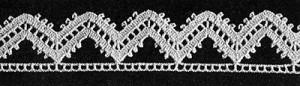Alpine Edging #8053 by Free Vintage Crochet