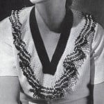 Band and Frill Collar #2036 by Free Vintage Crochet