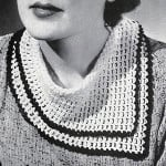 Scarf Collar Pattern #2099 by Free Vintage Crochet