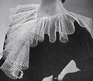 Cascade Collar #2102 by Free Vintage Crochet
