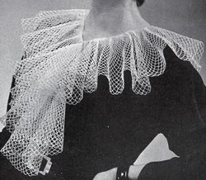 Cascade Collar #2102 by Free Vintage Crochet