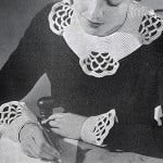 Cluny Collar and Cuffs by Free Vintage Crochet