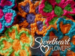 Sweetheart Love Flower by Stitch11