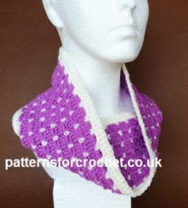 Ladies Cowl by Patterns For Crochet