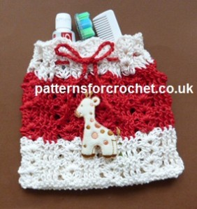 Child's Wash Bag by Patterns For Crochet