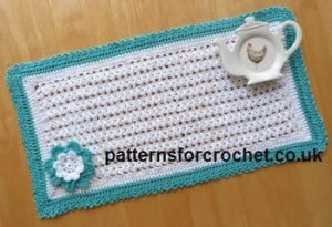 Rectangular Doily by Patterns For Crochet