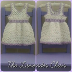 My First Birthday Dress (Newborn) by Dorianna Rivelli of The Lavender Chair