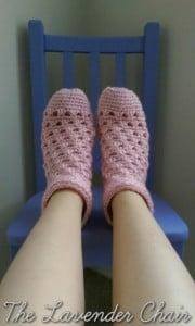 Lazy Daisy Sock by Dorianna Rivelli of The Lavender Chair