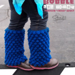 Bobble Leg Warmers – Toddler, Child and Adult Sizes by Stitch11