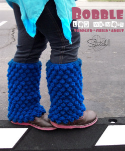 Bobble Leg Warmers - Toddler, Child and Adult Sizes by Stitch11
