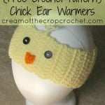 Chick Ear Warmers by Cream Of The Crop Crochet