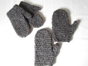 Homespun Mittens by Crochet is the Way