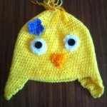 Chick Earflap Hat 1 yr+ by Crochet Addict