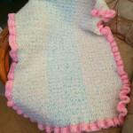 Baby Pram Blanket by Crochet Addict
