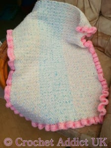 Baby Pram Blanket by Crochet Addict