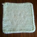 Waffle Washcloth by Crochet Addict