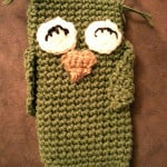 Owl Phone Cozy by Crochet Addict