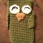 Owl Phone Cozy by Crochet Addict