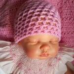 Baby Spring Beanie Hat – Newborn to 12 months by Crochet Addict